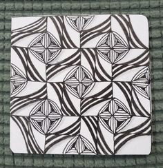 Hump Day Zentangle® Challenge #8 – Tangle Choice Day Edition Floor Patterns, Weekend Is Over, Windmill, New Day, Tangled, Silver Color, Colored Pencils, Finding Yourself, Challenges