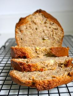bannana applesauce bread- I made today and it was amazing! Love fresh and homemade, warm bread :)
