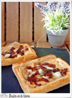 Brujita en la Cocina: Tartaleta de manzana, boletus y queso