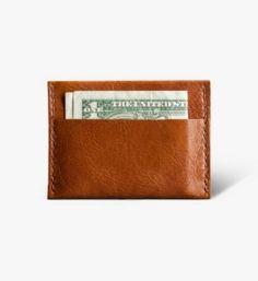 1020488011fee Convoy Goods - Tan Card Wallet  45