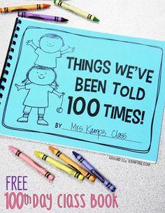 Day of School Ideas - First Grade Blue Skies Informations About Day of School Ideas - Fi 100 Day Of School Project, 100 Days Of School, First Day Of School, School Projects, School Ideas, 100 Day Project Ideas, School Stuff, School Themes, School Holidays