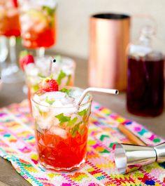 Strawberry Mojitos Recipe