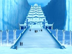 Avatar: Conquest of the Imperial Order Water Bending, Princess Yue, Minecraft, Water Temple, Water Tribe, Fire Nation, Anime Poses Reference, Legend Of Korra, Elements Of Art