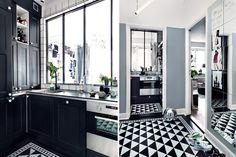 Grey, masculine and unique apartment | NordicDesign