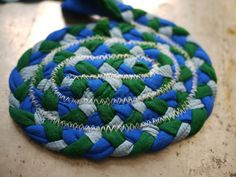 Braided Rag Rug tutorial! Grab a few pounds of shirts from the Goodwill Outlet and you're set!