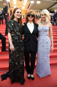 """Julianne Morore, Susan Sarandon and Naomi Watts - Opening Gala and """"Cafe Society"""" Premiere - May 11, 2016 #Cannes 2016"""