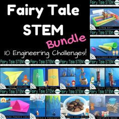 Do your students love STEM and fairy tales? This collection is for you! This pack includes 10 building and engineering projects based on a fairy tale themed problems. Engineering Projects, Stem Projects, Engineering Challenges, Stem Science, Science Experiments, Nifty Science, Math Stem, Mad Science, Teaching Science
