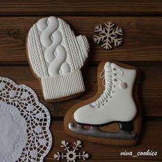 Mittens & Ice Skate Cookies