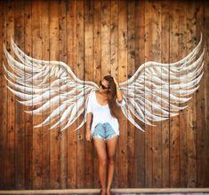 【最新版】天使の羽の写真が撮れるフォトスポット国内10選 | marry[マリー] Graffiti Wall Art, Murals Street Art, Street Art Graffiti, Mural Art, Wall Murals, Angel Wings Painting, Angel Wings Wall Art, Angel Art, Fairy Photography