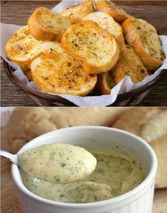 Ingredientes 2 colheres (sopa) de margarina Salsinha à gosto Sal e alho amassado Modo de Preparo: Bater tudo no liquidificador, passar no pão francês cortado ao meio. Levar para assar no forno convencional ou na churrasqueira.