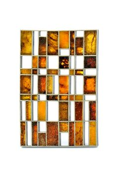 Amber brooch by Helfried Kodré 2015: amber, silver 60x90 mm  Galerie Orfèo - Galerie d' Art - Luxembourg