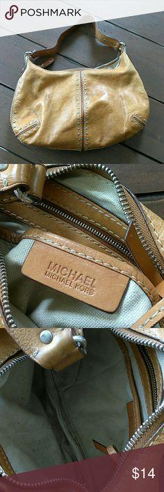 Michael kors Super nice camel color leather Michael Kors Bags Shoulder Bags