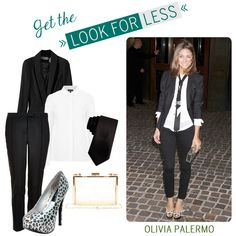 Get the Look for Less - Love Olivia Palermo's style!
