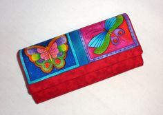 Peňaženka s motýlikmi :-)
