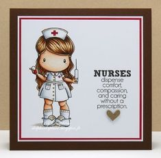 Nurse Lucy Copyr Wtmk Great Design For Card Quotes Sayings Cool