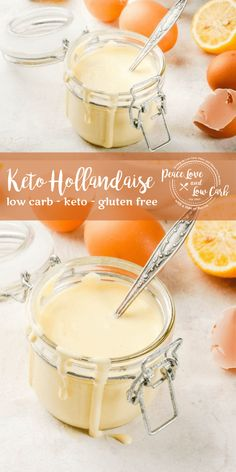 Keto hollandaise is my all-time favorite sauce. It made from scratch, it is naturally keto friendly and has almost zero carbs. Ketogenic Recipes, Ketogenic Diet, Low Carb Recipes, Real Food Recipes, Diet Recipes, Ketos Diet, Diet Desserts, Diet Foods, Egg Recipes