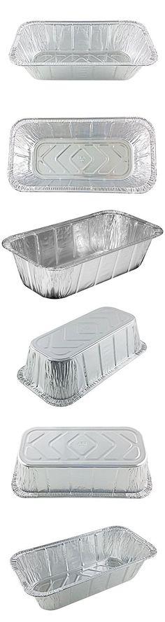Handi-Foil 1/3 Third-Size Deep Aluminum Foil Steam Table / Loaf Pan (pack of 20)