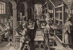 Os primeiros livros impressos. O medievo transformado. O conhecimento torna-se viável para um número maior de pessoas.