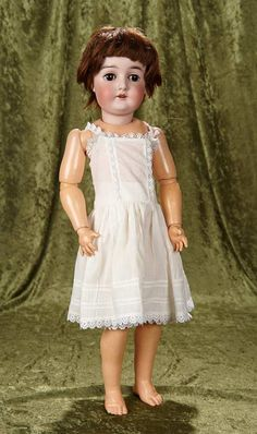 """25"""" German bisque child, """"Queen Louise"""" by Marseille with flapper style body 300/500"""