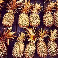 Nothing better than #gold #pineapples. #BikiniDotCom