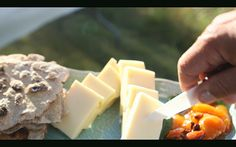 Need a snack? Try this Cheese, Chutney and Hard Bread from season 2, episode 2 of Tareq Taylor's Nordic Cookery. http://gustotv.com/recipes/snacks/cheese-chutney-hard-bread/