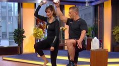 Carol Alt and Fitness Instructor Tony Greco, Instructor to Carrie Underwood   Staying Fit For Life....  Exercise 5 mins a day and receive results!!! Simple 1 minute exercises that will work your core!!