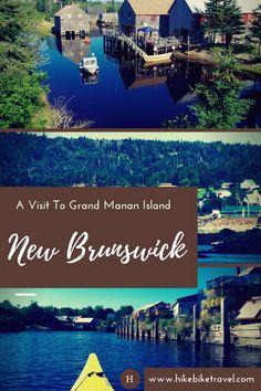 A Visit to Grand Manan Island, New Brunswick - Hike Bike Travel Canada Trip, Canada Eh, Visit Canada, Canada Travel, East Coast Canada, Places To Travel, Places To Go, New Brunswick Canada, East Coast Travel