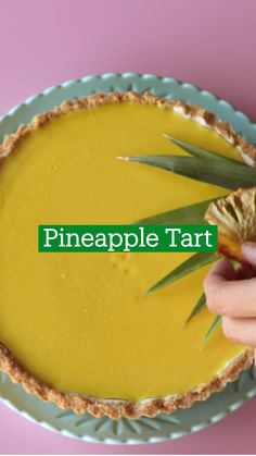 Tart Recipes, Sweet Recipes, Baking Recipes, Dessert Recipes, Just Desserts, Delicious Desserts, Yummy Food, Tasty, Pineapple Tart