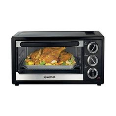 Quantum Compact Toaster Oven 1300 Watt * You can get more details by clicking on the image. (This is an affiliate link and I receive a commission for the sales)