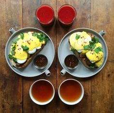 Saturday: Beef Brisket Benedict (made in 30 minutes in my new early Christmas toy from with carrot and beetroot juice and an Earl Grey 👌🏼 ———————————- If you want to win a breakfast made by me and a tea masterclass by the. Breakfast Pizza, Breakfast Lunch Dinner, Breakfast Dishes, Breakfast Recipes, Morning Breakfast, Poached Eggs On Toast, College Meals, College Food, Food Goals