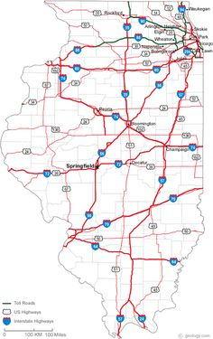Map Of Pa Ease And Convenience Of Having A Pennsylvania Road - United states map illinois
