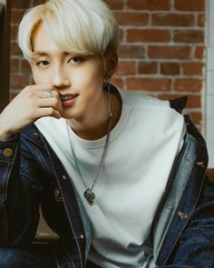 Blond, Kim Sang, Heart With Arrow, Ulzzang Boy, Boyfriend Material, Beautiful Babies, Red Roses, Dog Tag Necklace, Wattpad