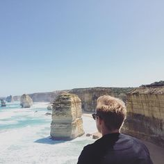 De 12 Apostles på Great Ocean Road  #Australia #exchangestudent #greatoceanroad #roadtrip #twelveapostles by kris.b.jensen