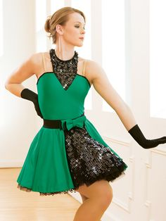 Emerald City | Revolution Dancewear 2015 Costume Collection