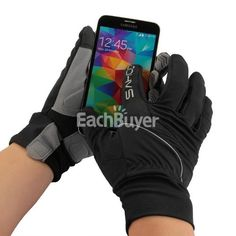 Pair Cycling Bike Touch Screen Gloves for Smartphone - 14$