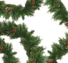 9' x 10 Yorkville Pine Artificial Christmas Garland - Unlit 31466658 | ChristmasCentral