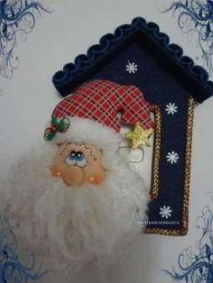 Several foamy projects Felt Christmas Decorations, Christmas Ornaments, Holiday Decor, Arts And Crafts, Xmas, Santa, Merry, Academia, Halloween