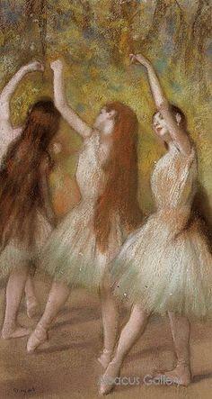Degas Dancers, Long Hair