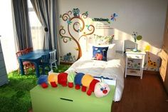 1Kiddies Tree 2 Inspirational Phrases, Wall Sticker, Wall Design, Toddler Bed, Custom Design, Interiors, Creative, Furniture, Home Decor