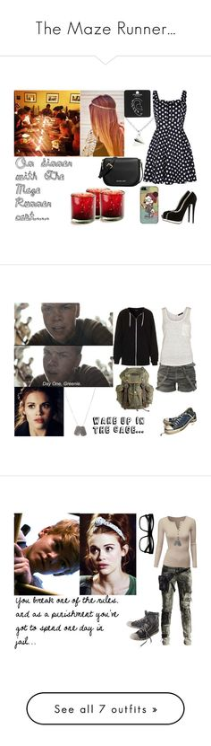 """""""The Maze Runner..."""" by crazylucidee ❤ liked on Polyvore featuring themazerunner, Giuseppe Zanotti, Quiz, Topshop, MICHAEL Michael Kors, VILA, Converse, Dsquared2, Retrò and Diesel Black Gold"""