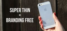 Peel - Super Thin iPhone Cases // The best iPhone case I have ever seen!