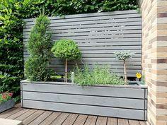 Backyard Garden Design, Rooftop Garden, Back Gardens, Outdoor Gardens, Moving Plants, Home Exterior Makeover, Garden Screening, Outdoor Living, Outdoor Decor