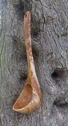 Olive wood large ladle by ellenisworkshop on Etsy, $64.00