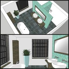 home office design Hidden shower and toulet Bathroom Floor Plans, Laundry In Bathroom, Bathroom Renos, Bathroom Flooring, Bathroom Interior, Modern Bathroom, Small Bathroom, Bathroom Layout Plans, Bathroom Design Layout