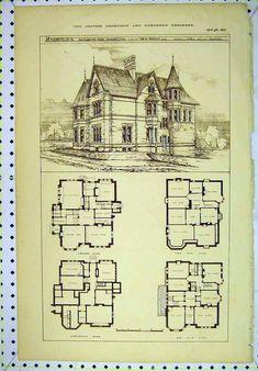 vintage Victorian House Plans | CLASSIC VICTORIAN HOME PLANS | House Design