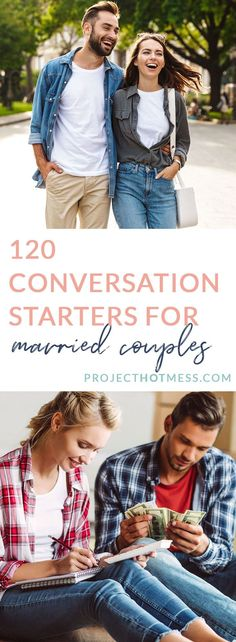 Communication in marriage is so important, but it doesn't have to be hard. In fact, it can be easy and fun! Here are 120 conversation starters for married couples to help keep the communication easy and strong in your marriage! First Year Of Marriage, Marriage Life, Communication In Marriage, Married Couples, Conversation Starters, Healthy Relationships, Women Empowerment, Sexy, Life Is Good