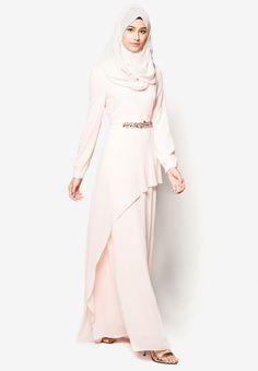 b4929393c2c2 Zalia Embellished Chiffon Dress I Beli di ZALORA Indonesia ® Woman Dresses,  Prom Dresses,