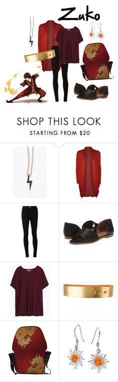 """""""Zuko"""" by notlink ❤ liked on Polyvore featuring Sugar Bean Jewelry, WearAll, AG Adriano Goldschmied, Lucky Brand, Zara, Michael Kors and Bling Jewelry"""