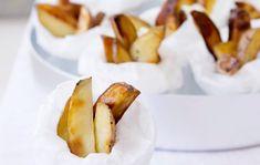 Tryffeliperunat/Potato wedges with truffle oil, Kotiliesi.fi