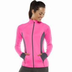 Tek Gear Colorblock Mockneck Workout Jacket - Women's